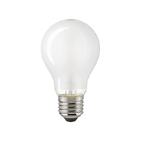 7W LED-FILAMENT NORMALE MATT E27 2700K DIM