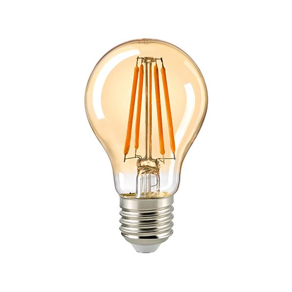7W Normale Filament gold E27 720lm 2500K dim