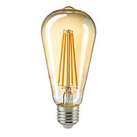 4,5W Rustika Filament gold E27 400lm 2500K dim