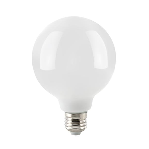 8,5W Globe 95mm Filament opal E27 1055lm 2700K dim