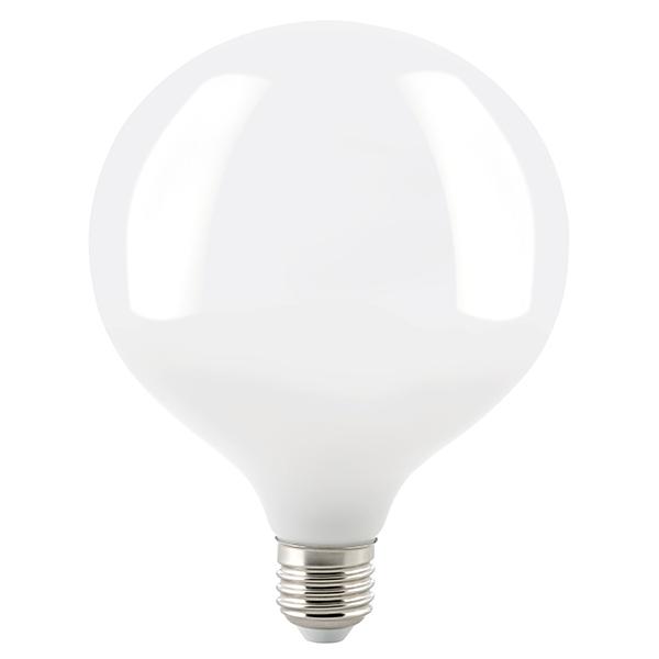 11W Globe 125mm Filament opal E27 1521lm 2700K dim