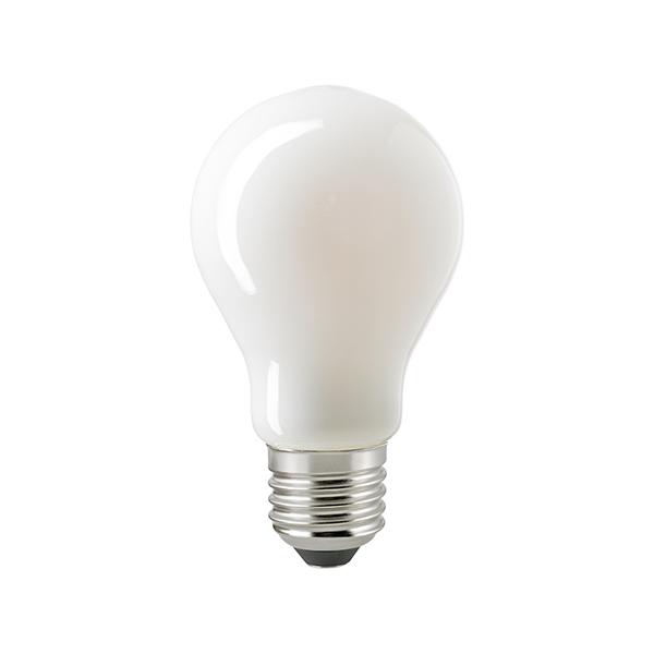 8,5W Normale Filament opal E27 900lm 2700K dim