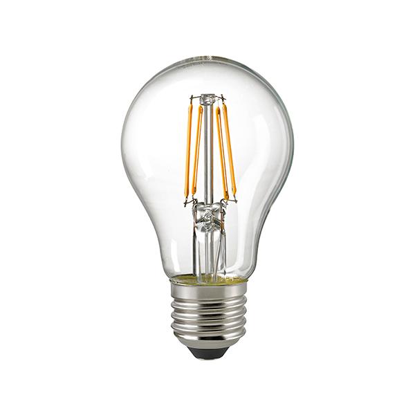 5W LED-FILAMENT NORMALE KLAR E27 2700K RA95 DIM -Abverkaufsartikel-