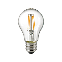7W Normale Filament klar E27 806lm 2700-2200K DTW