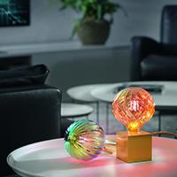Vorschau: 4W Oriental Globe 125mm THEBEN E27 35lm 1300K dim