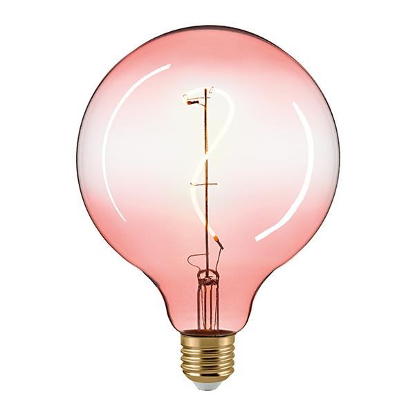 4W Oriental G125mm GIZEH pink E27 160lm 2000K dim
