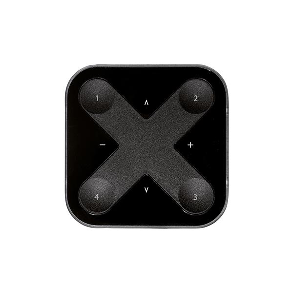 Fernbedienung VADSBO Casambi XPRESS Schwarz 90x90x12mm magnetisch