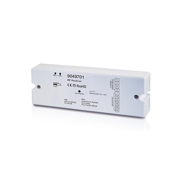 Empfänger LUXIGENT 5 Kanäle x 5A für RGB/CCT 170x59x29mm