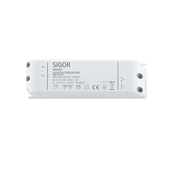 Netzteil POWERLINE BASE 60W 24VDC 180x52x30 2,5A IP20