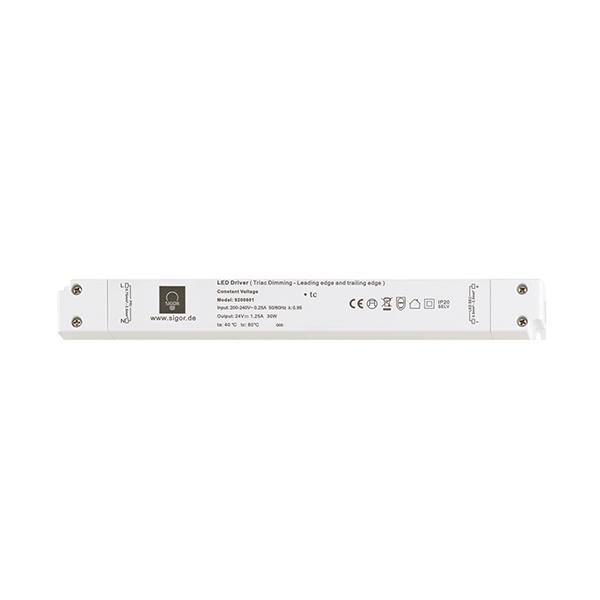 Netzteil POWERLINE Triac slim 60W 24V 330x30x19mm 2,5A IP20