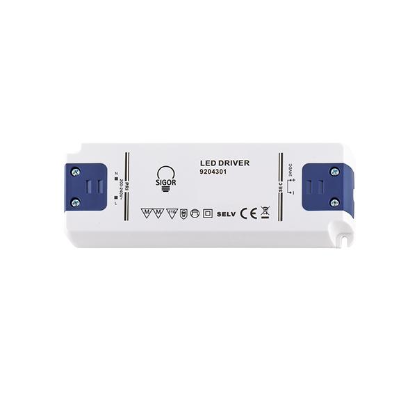 Netzteil POWERLINE FLAT 20W 24VDC 98x35x16mm 0,83A IP20