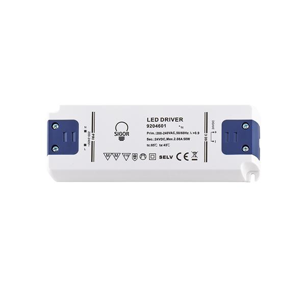 Netzteil POWERLINE FLAT 50W 24VDC 160x58x18mm 2,08A IP20