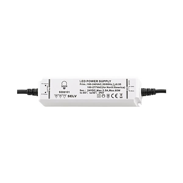 Netzteil POWERLINE 60W 24VDC 156x42x30mm 2,5A IP67