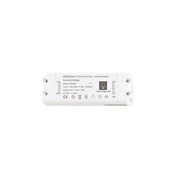 Netzteil POWERLINE Triac flat 25W 24V 155x54x20mm 1,04A IP20