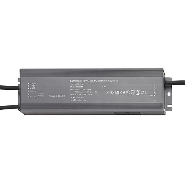 Netzteil POWERLINE DALI 200W 24V 256x78x46mm 8,3A IP66