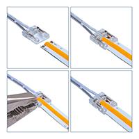Vorschau: Kabelverbinder für 10mm COB-Streifen einfarbig
