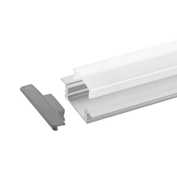 1m Einbauprofil Flach 12
