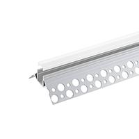 1M LED-PROFIL RANDLOS UNTERPUTZ ÄUßERE ECKE 10 Inkl. MATTE ABDECKUNG