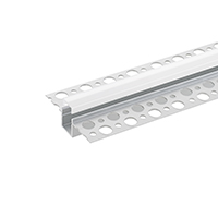 2M LED-PROFIL RANDLOS UNTERPUTZ 10 Inkl. MATTE ABDECKUNG