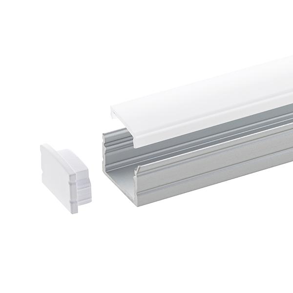 2m Aufbauprofil 15