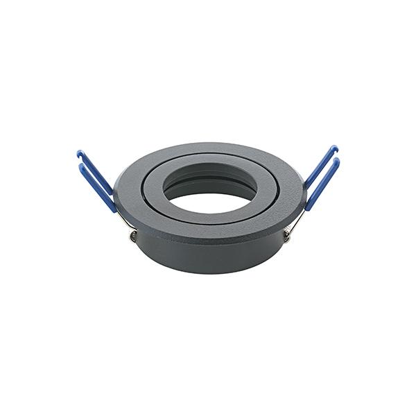 Einbauleuchte RING 83mm schwarz schwenkbar